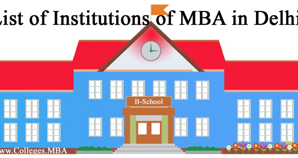 MBA Institutions in Delhi